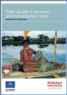 Cover of Older people in disasters and humanitarian crises: Guidelines for best practice